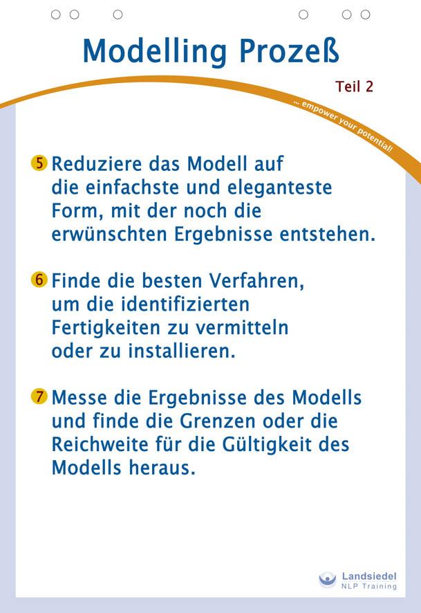 Schritte Modelling