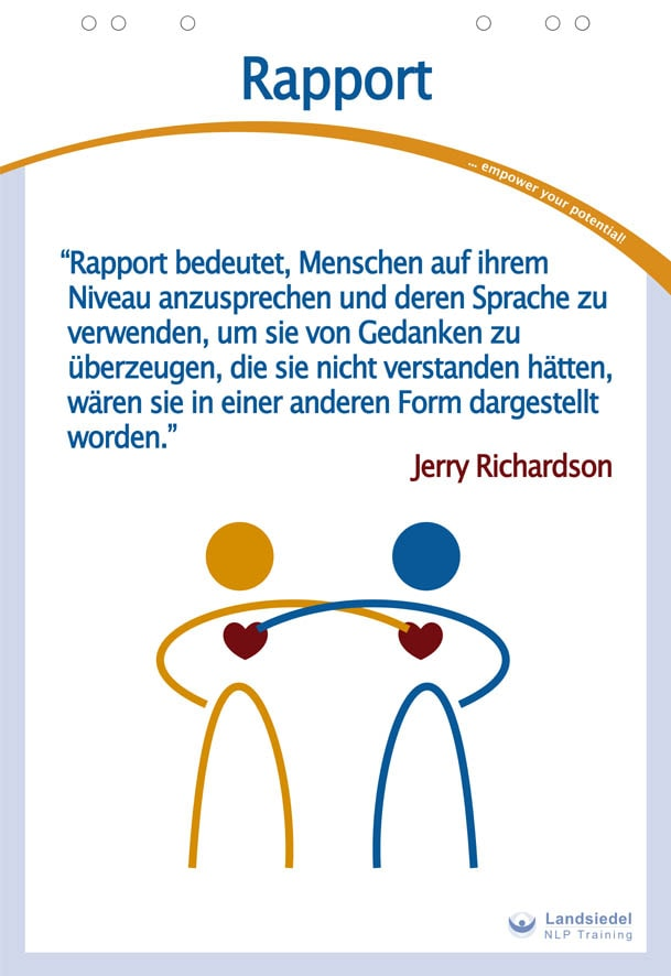 1. Rapport und Körpersprache: NLP-Practitioner-Inhalte